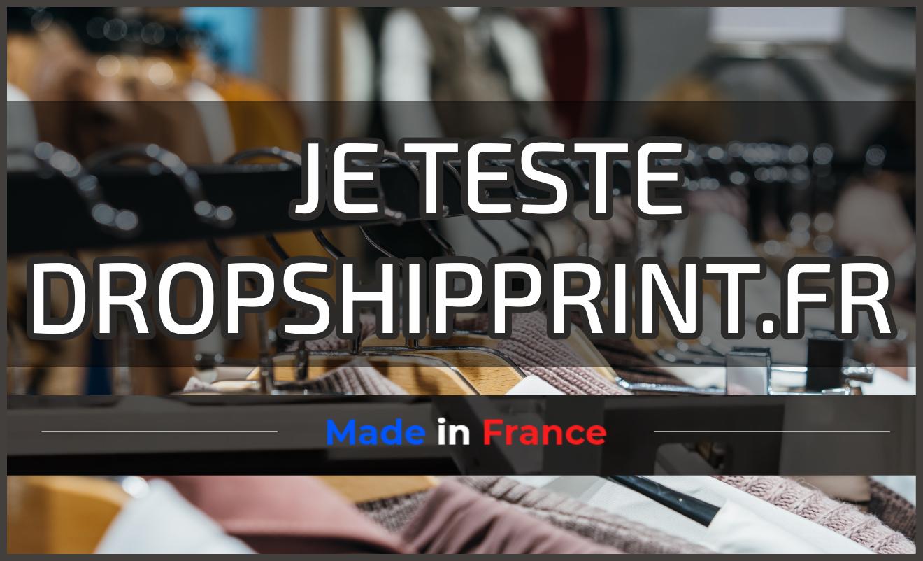 Dropshipprint.fr : Fournisseur print on demand